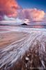 St Michael's Mount ([[BIOSPHERE]]) Tags: sunset sea beach clouds landscape coast cornwall stmichaelsmount