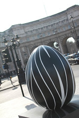 The big Egg Hunt - White on Black: Sensuality and restraint (milliejinx) Tags: london canon easter egg eggs faberge 550d pennyfowler whiteonblacksensualityandrestraint thebigegghunt