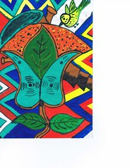 PAP-DAV-20 (moralfibersco) Tags: art latinamerica painting haiti gallery child fineart culture scan collection countries artists caribbean emerging voodoo creole developingcountries developing portauprince internationaldevelopment ayiti