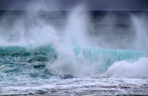 Waves by ahisgett, on Flickr