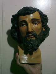 St.Thomas the Apostle (sn_juan27) Tags: sculpture art saint painting philippines saints santos caro restoration procession santo semanasanta religiousimage pampanga holyweek religiousart betis prusisyon maleldo betispampanga