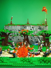 Besieged (Stormbringer.) Tags: castle army lego perspective forced siege moc