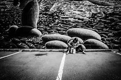 Nature in the city (Joris_Louwes) Tags: urban canada man nature parkinglot mural britishcolumbia victoria
