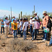 On the trails at the Saguaro National Park BioBlitz, 2011
