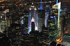Empire state of mind (p.konidis) Tags: city nyc newyorkcity newyork buildings skyscrapers nightshot timessquare empirestatebuilding thebigapple