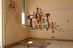 Ville (B.RANZA) Tags: streetart graffiti tag trace urbanart histoire waste graff sanatorium hopital empreinte exil cmc patrimoine urbex disparition abandonedplace mmoire friche centremdicochirurgical