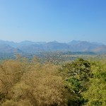 View over the River Kwae valley from Hellfire Pass Memorial Museum, Kanchanaburi, Thailand thumbnail