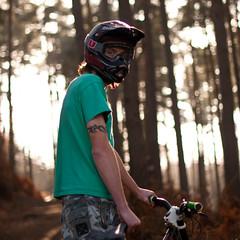 72/366 (Conrad Goff) Tags: trees sunlight 50mm nikon forrest bikes downhill josh riding 888 conrad 72 2012 commencal goff 366 14g d80 marzocci