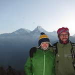 "Us with Annapurna Range <a style=""margin-left:10px; font-size:0.8em;"" href=""http://www.flickr.com/photos/14315427@N00/6988434413/"" target=""_blank"">@flickr</a>"