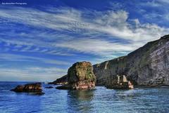 ...saw a few rocks (Rex Montalban Photography) Tags: newfoundland stjohns hdr pseudo photomatix rexmontalbanphotography