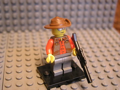 The Sniper (Patbrick) Tags: red 2 orange team lego box valve sniper minifig custom fortress purist tf2
