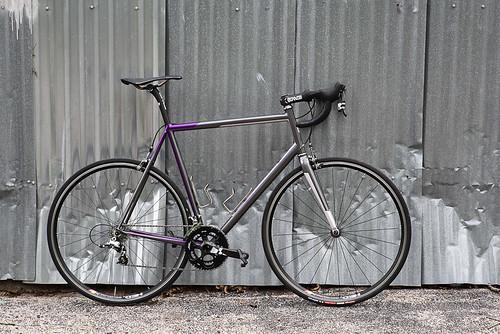 John's Fillet-Brazed Road Bike
