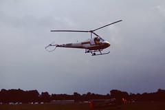 Enstrom F-28A (D-HMMF) (Matthias Harbers) Tags: show light germany airplane minolta kodak air ground slide scan helicopter kodachrome lbeck runway flugtag x700 blankensee kodachrome200 enstrom f28a alltypesoftransport dhmmf