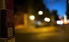 4th Street Bokeh (tradewinds>) Tags: light sunset color night austin twilight downtown texas metro bokeh tx rail explore 20mm f17 capitalmetro gh1