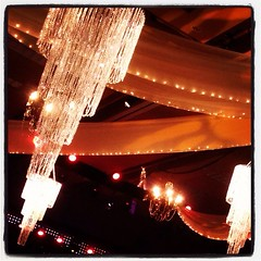 3-Tiered Crystal Chandelier (Celadon Events) Tags: lighting design crystal rental event fabric chandelier decor accent props ceilingtreatment