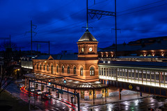 Wilmington Station (MIDEXJET (Thank you for over 2 million views!)) Tags: night cloudy