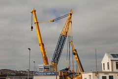 20140413_32798 (axle_b) Tags: ltm haven marina docks dock lift crane lock engineering harvey milford heavy hire mclaughlin milfordhaven liebherr 11000 heavylift ainscough milfordmarina milforddocks mclaughlinharvey liebherrltm11000 mclaughlinandharvey