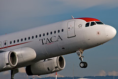 N497TA (wittowio) Tags: aviation airbus spotting airliner a320 taca mroc