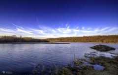 Warm days to come (Funtographer) Tags: trees lake canada water canon landscape spring sigma alberta coal hdr highdynamicrange sigma1020 tonemapped coallake 60d canon60d