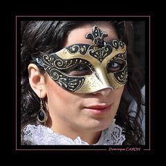 Masque 43 (Docaron) Tags: carnival venice portrait mask carnaval venise masque dominiquecaron