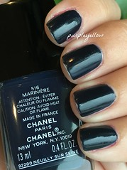 Chanel Mariniere (purple yellow) Tags: nail polish chanel mariniere 516