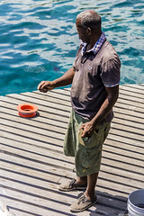 IWR-Curacao-090316 (6) (Indavar) Tags: street bridge people fishing market curacao tugboat oldlady caribbean tug curaao curazao caribe