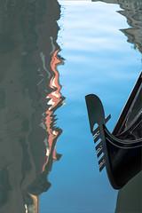 Venedig [Romana Gleitsmann] (R&G_Gleitsmann) Tags: venedig spiegelung gondel
