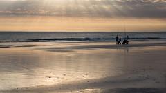 pescadores en la playa (Danubio!) Tags: espaa spain playa andalucia andalusien spanien pescador conildelafrontera