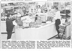 NELA Company Store November 1967 (JeffCarter629) Tags: ge generalelectric nela generalelectricchristmas gechristmas gechristmaslights generalelectricchristmaslights