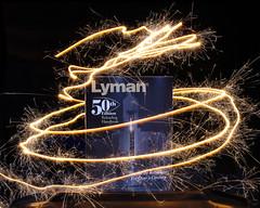 Lyman's 50th Edition (ZackBrescia) Tags: light night book gun guns lighttrail
