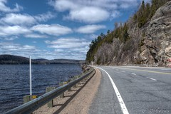 160427-32 Route 155 (clamato39) Tags: road sky canada nature clouds river route ciel qubec nuages bitume shawinigan rivirestmaurice latuque route155