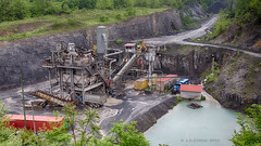 Fairfax Quarry (Photons of Days Past) Tags: construction corridor h fairfax quarry gravel canonef24105mmf4lisusm canoneos6d