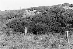 Connemara 04 (Ian Atrus Gazzotti  iangazzotti.com) Tags: ocean ireland sea blackandwhite bw analog 35mm fence wire nikon bn connemara barbed biancoenero irlanda nikonf70 f70