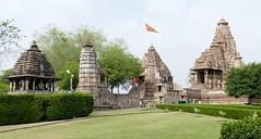 Matangeshwar and Lakshman Temples (chdphd) Tags: khajuraho lakshmantemple matangeshwartemple