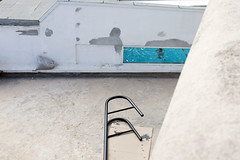 #05 - the stepladder (yaya13baut) Tags: street blue color window water pool marseille fuji 05 streetphotography streetlife swimmingpool corniche fujifilm stepladder fujix100s x100s fujifilmx100s streetrepeat106