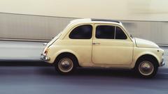 Fiat 500 (panning)
