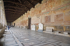 2016-05-13 05-28 Toskana 349 Pisa, Piazza dei Miracoli, Il Camposanto (Allie_Caulfield) Tags: city italy tower del geotagged photo site high flickr torre foto image sommer sony picture center medieval historic hires pisa cc tuscany resolution jpg piazza duomo bild jpeg geo altstadt leaning stockphoto toskana a77 2016 pendente wunderwiese maiitalien