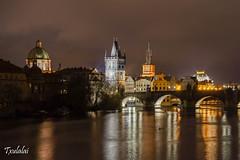 Praha - Prague - Praga (Txulalai) Tags: travel rio puente arquitectura prague monumento sony praha praga nocturna vltava reflejos republicacheca moldava chequia reflec sonyalpha6000 sonya6000 sonyilce6000