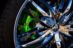 Camaro Chrome (maberto) Tags: california wheel reflections pentax folsom camaro chrome carshow caliper carsandcoffee bradmaberto