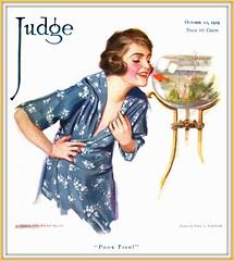 1919 October 11, - COVER - JUDGE - Poor Fish - Drawn by Edna L. Crompton (carlylehold) Tags: robert c worth longest edna crompton haefner