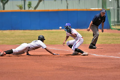 _DSC0193 (Manjhou) Tags: up sport set nikon baseball sigma kaohsiung pitcher position batter 70200mm   pickoff   tainwan         d7200