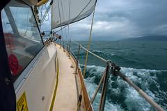Coasting........ (Dafydd Penguin) Tags: coasting coast coastal sailing sail sailboat yacht boat cruising scotland scottish west islands sea water nikon d600 nikkor 20mm af f28d