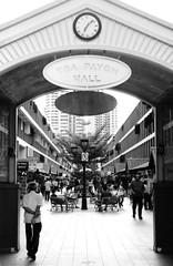 Grand Entrance (orzalana69) Tags: singaporestreetphotography mallentrance localpark toapayohmall kieviiarangefinder filmphotography russianrangefinder neopanacros100