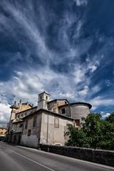 sky over bagnaia (brucexxit) Tags: medieval viterbo etruria etruschi tuscia bagnaia cimini monticimini tusciaviterbese
