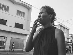 DSCF6278 (Frigo Daniele) Tags: street light people woman sun blackwhite padova