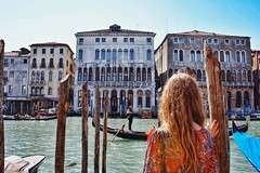 In Awe (Scottie Outerbridge) Tags: venice portrait italy beautiful canal gondola gondolier