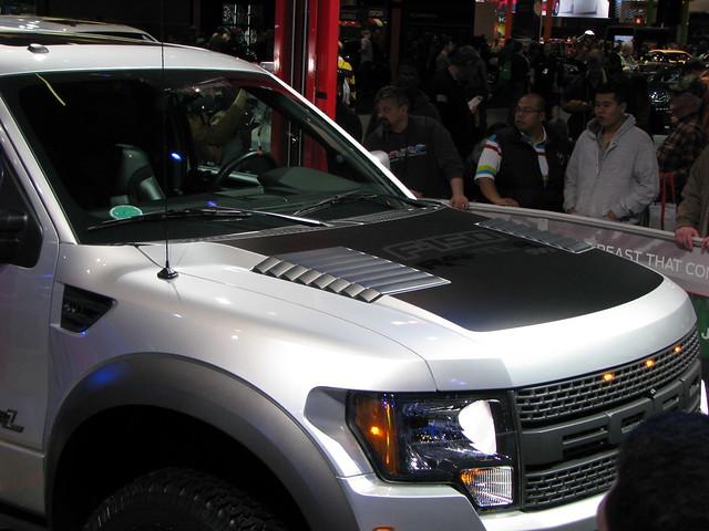 chicago cars truck illinois pickup automobiles mccormickplace fordf150raptorsvt 2012chicagoautoshow