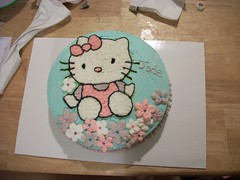 Hello Kitty Cake by Kelly and Monica