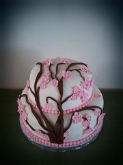 Cherry Blossom Cake by Elicia H
