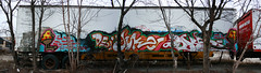 150/365 (BCalico) Tags: chicago grey graffiti bc joke pano rip panoramic 365 erie names swell numb dsi stn cmw kwt fene dvs drane 2nr dkal